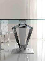 charming glass dining table chrome base full size of rectanguler modern chrome dining table base