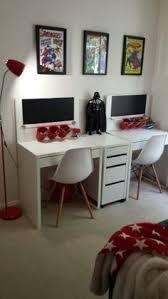 kid's new study setup, kids desks
