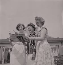 Miss Greeba (Mona Hudson), June Teare and Ivy Benson posters & prints by  Manx Press Pictures