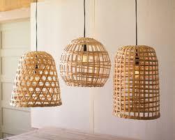 image of metal basket pendant light