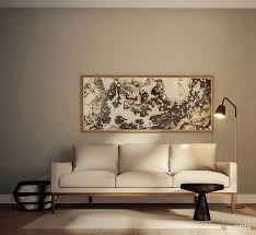 minimalist living room furniture. Wall Seeking Sofa: 8 Ways To Try A Monochromatic Living Room Minimalist Furniture N