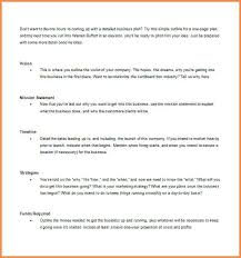 One Page Business Proposal Template Business Proposal Template Word