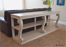 sofa table plans best of remodel the furniture with diy sofa table