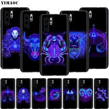 YIMAOC <b>Zodiac</b> Signs <b>Silicone Case for</b> Huawei Honor 6a 7a 7c 7x ...