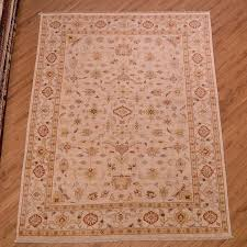afghan beige with yellow ziegler carpet 3 44 2 37m