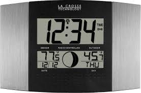 atomic digital wall clock time date