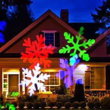 Outdoor Led Christmas Projection Lights Supli Outdoor Christmas Projector Lights Multicolor Rotating Led Light Projection Waterproof Snowflake Spotlight 10pcs Pattern