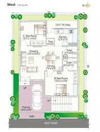 outstanding house plan vastu house plan west facing impressive navya homes 30x40 west facing house plans