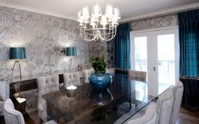 ... dining room wallpaper ideas likable modern feature formal damask dining  room category with post adorable dining
