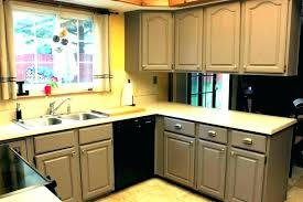painting kitchen cabinets cost how much does it to paint resurface c
