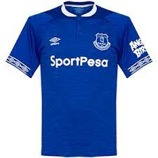 Everton jersey is really different compared to their today's jerseys. Everton Football Shirt Archive