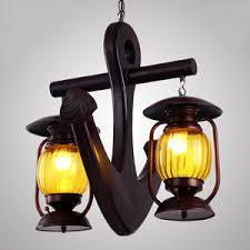 nautical pendant lights. vintage nautical two-light pendant lights