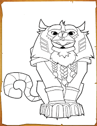 Free Printable Animal Jam Coloring Pages
