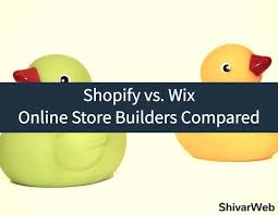 Wix Vs Shopify Shopify Vs Wix Ecommerce Online Store Builders Compared