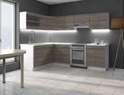 Eckküche Küche Dave 170x250 cm Küchenzeile Küchenblock Winkelküche