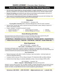 Monster Sample Resumes Internship Resume Sample Monster Resume Template Internship Best 12