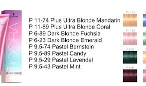 Schwarzkopf Blonde Color Chart Www Bedowntowndaytona Com
