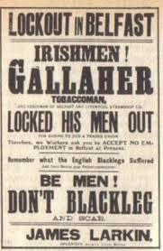 Image result for photo of Belfast Dockers strike