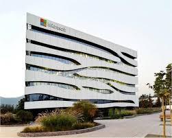 microsoft office building. White Building - Microsoft Santiago (Chile) Office