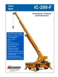 Broderson Ic 200 3f Specifications Cranemarket
