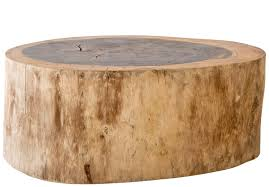 tree stump furniture. Munggur Tree Trunk Coffee Table \u2013 Large Stump Furniture