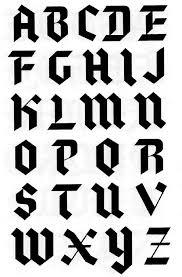 black letter font blackletter modern textura creative typography pinterest