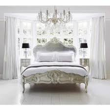 Sylvia Serenity Silver French Bed Silver