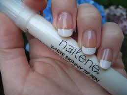 Review and Tutorial: Nailene Skinny French Tip Pen - YouTube