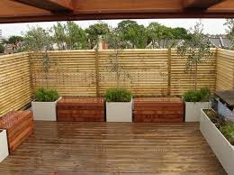 Traditional Backyard Decor with Outdoor Bamboo Privacy Panel Screen, Piece  of Bamboo Wood Material,