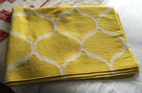 ikea yellow stockholm woven rug