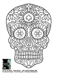 Sugar Skull Coloring Pages For Adults Beautiful 251 Best Sugar