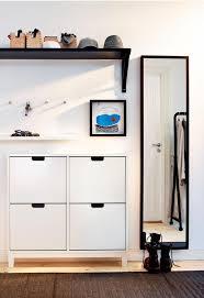 Image of: Entryway Storage Cabinet Ikea