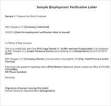 13 Certify Letter Of Employment Notice Paper