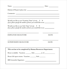 Time Off Request Form Pdf Employee Time Off Request Form Pdf Familycourt Us