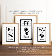 Free Printable Bathroom Art Gorgeous Bathroom Art PRINTABLE Art Bathroom Wall Decor Funny Etsy