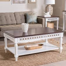 Antique White Coffee Tables Off White Coffee Table Set Wood Square Shape With 4 Legsoff White