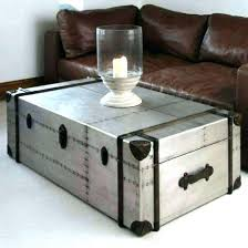 richards trunk coffee table aluminum trunk coffee table great present 9 richards trunk coffee table aluminum