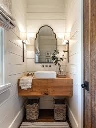 half bathroom ideas brown. small half bath ideas example of a country dark wood floor and brown powder bathroom