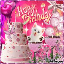 Image result for glitter late birthday wishes for friend sms
