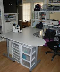 home office desk storage. Desk Charming Transparent Plastic Craft Storage White Metal Top Gray Legs Brown Home Office F