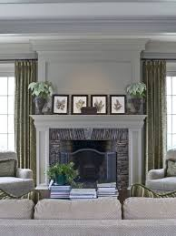 traditional family room idea in atlanta with beige walls a standard fireplace a stone