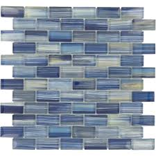 blue glass tile watercolor pool mosaic tiles cobalt workwellmedical us backsplash penny subway red stone for marble