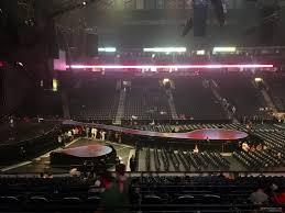 Bridgestone Arena Section 115 Concert Seating