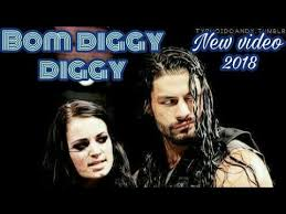 Bom Diggy Diggy Roman Reigns Paige Wwe In Punjabi Song Style Awesome Dam Degge Hndi Sung