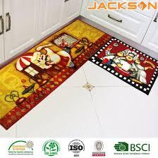 anti slip washable kitchen runner rug