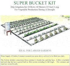 vegetable garden irrigation raised vegetable garden irrigation growing drip bed grid system diy vegetable garden irrigation
