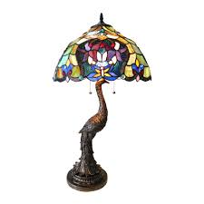chloe lighting fl persia 2 light tiffany style table lamp view larger