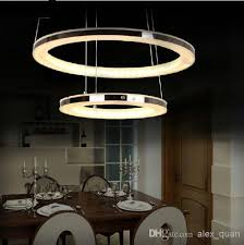 contemporary dining room pendant lighting. Brilliant Chandelier Lighting Modern Led Acrylic Pendant Lamp Living Room Dining Contemporary C