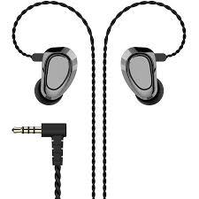 KBEAR <b>KB04 HiFi Earbuds</b>, 1BA 1DD Metal IEMs with Detachable 2 ...