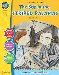 the boy in the striped pajamas student novels and keys the boy in the striped pajamas literature kit study guide classroom complete press